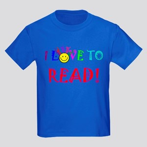 Love to Read Kids Dark T-Shirt